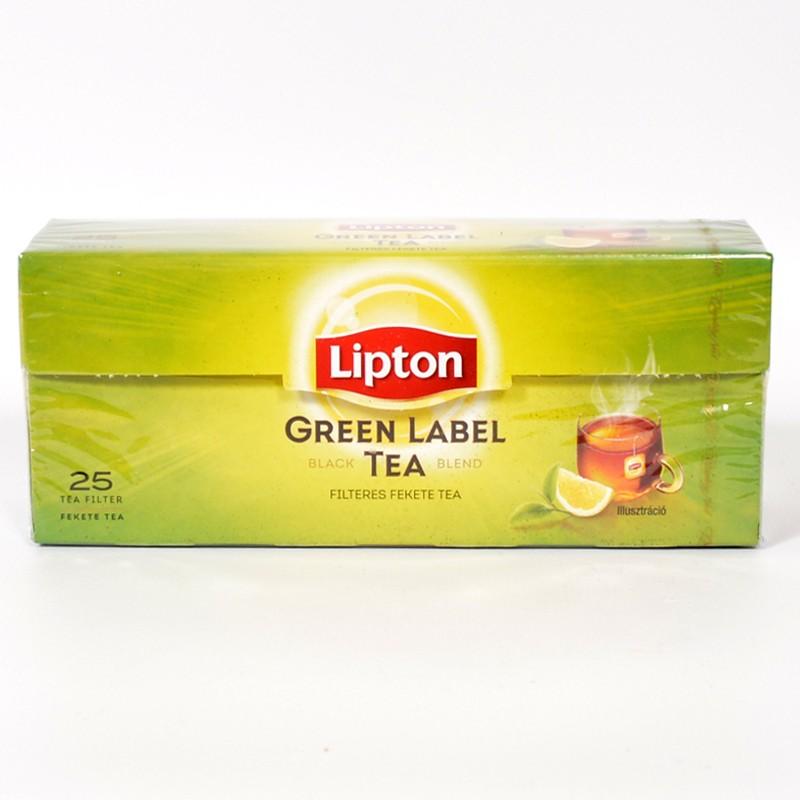 Lipton Green Label Tea 25*1,5 G